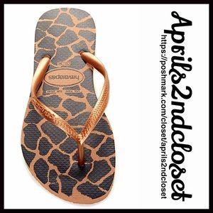 Havaianas Shoes - ❗1-HOUR SALE❗️HAVAIANAS Flip Flops Flat Sandals