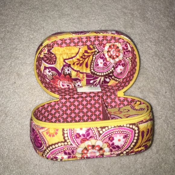 Vera Bradley Handbags Bali Gold Vera Bradley Travel Jewelry Box