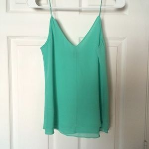 Beautiful Seafoam Top