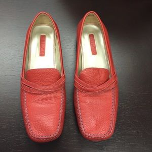 Unisa Shoes - Unisa red loafers
