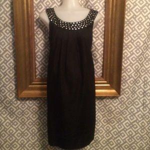 London Times Dresses & Skirts - London Times 8 dark denim dress;