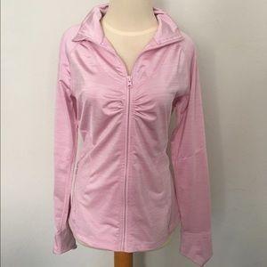 Zella Pink Zip Up Jacket small