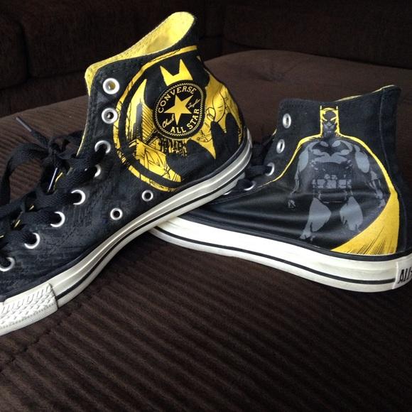 Converse Dc Edition Batman Tennis Shoe