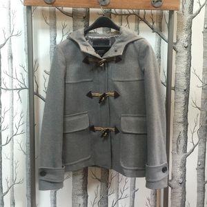 JCrew Classic Duffle Wool Coat