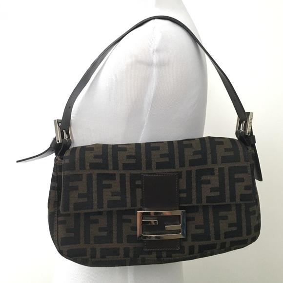 d8bcbc945f1d FENDI Handbags - Authentic Vintage Fendi Zucca Micro Baguette Bag!