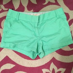 "J. Crew Pants - J Crew Chino Shorts ""Sea Glass"""