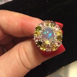 Rarities in Opals Jewelry - RARE EXOTIC✨💎✨Ethiopian Opal & Mixed Tourmaline