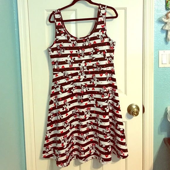 torrid Dresses | Mickey And Minnie Mouse Plus Size Disney Dress ...
