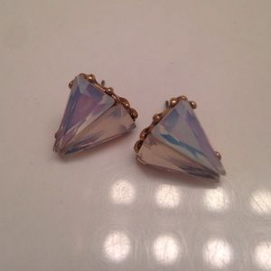 Crystal J Crew earrings