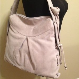 bb7d96d30e CAMEL BEIGE 42CM ITALIAN LEATHER HOBO BAG SHOULDER