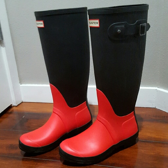 39% off Hunter Shoes - ***SOLD***Hunter boots, size 6, red and ...