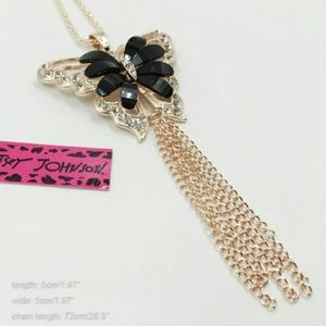 Betsey Johnson Jewelry - 🎀weekend SALE🎀Betsey J rose gold lovely bow blin