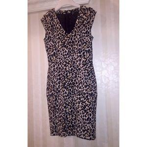 H&M Cheetah Midi Dress