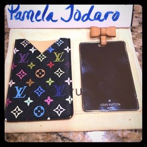 Louis Vuitton Accessories - Authentic Louis Vuitton Mirror in Multicolor Noir.