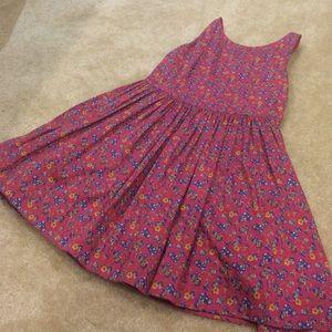 Super cute button-back Ralph Lauren floral dress