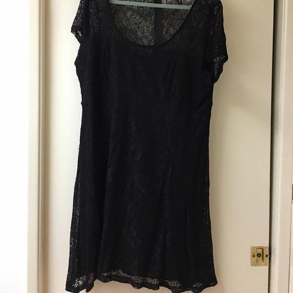 Torrid Dresses Flash Sale Size 20 Black Lace Dress Poshmark