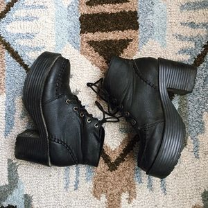 Shoes - Chunky boots