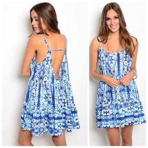 Spaghetti Strap Dress || Size Large