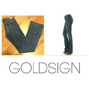 Goldsign Denim - ♡91%off Passion fit boot cut jeans by Goldsign