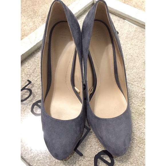 c402c7f9418 Zara trf grey heels 4