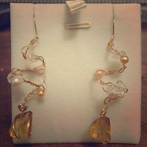 Free People Jewelry - Artistic Earrings