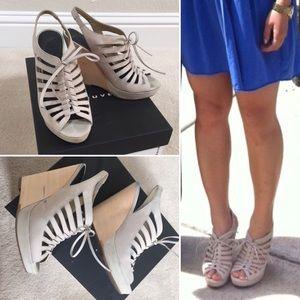 Trouve Shoes - Trouve Clairmont Wedge Sandal