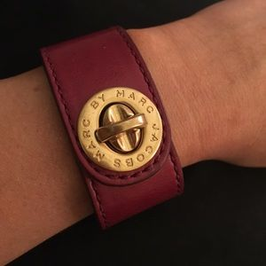 Marc Jacobs Leather Bracelet