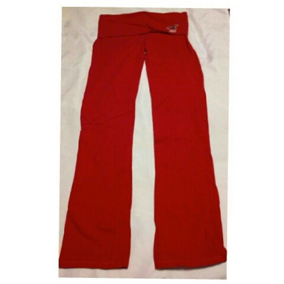 Pink Hollister Yoga Pants S From