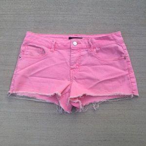 Forever 21 Pants - Neon Denim Shorts