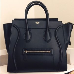 where can i buy celine bags online - celine mini luggage tote on Poshmark