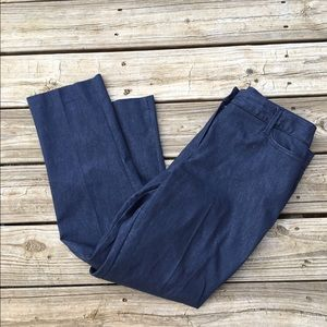 Larry Levine Pants - Dark wash denim jeans