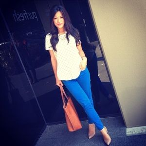 J.Crew Cobalt Blue Denim