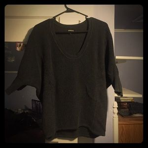 Express dark grey London sweater
