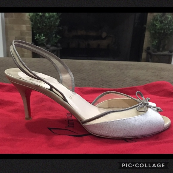 newest 04a2b 65eef SALE! 🎉 Auth Christian Louboutin Sandals! 🎉 WOW!
