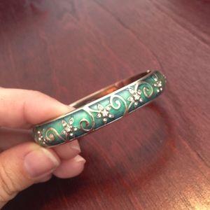 Brighton Jewelry - Retired Brighton Mystique Teal Bracelet
