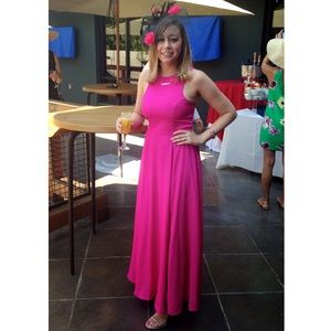 Naven Dresses & Skirts - Naven hot pink maxi dress - size small