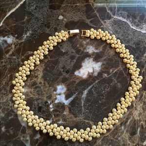 """Choker, Gold alloy, does not turn, 16"""" Vintage"""