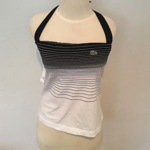 Lacoste Sport Halter Workout Top