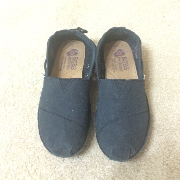 sketchers all black. skechers shoes - 6w all black never worn bobs by sketchers a