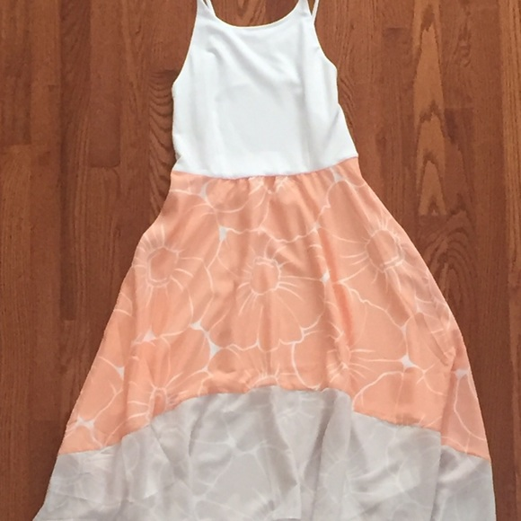 c9db6d31f8b5 Anthropologie Dresses & Skirts - Anthropologie Hutch Peachy Hi-Lo Dress