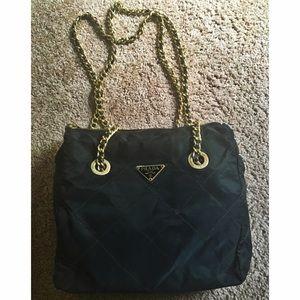 prada chain purse