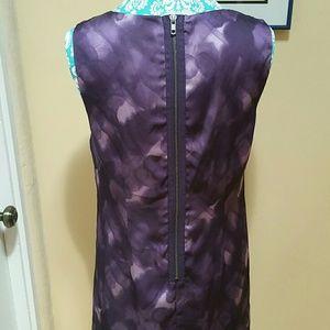 Simply Vera Vera Wang Dresses - Purple Watercolor Dress