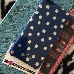 kate spade Accessories - NWOT iPhone 6/6s plus Kate spade navy hybrid case