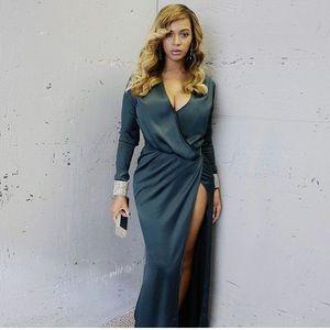 Serafina draped House of CB dress  ❌sold❌