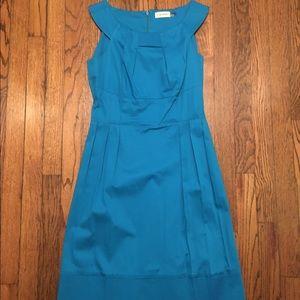 Calvin Klein Blue Sheath Dress