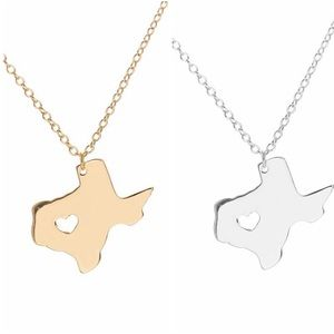 Jewelry - Texas State Necklace - State Necklace -  Texas