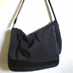 Giorgio Armani Handbags - Giorgio Armani Black Messenger Bag