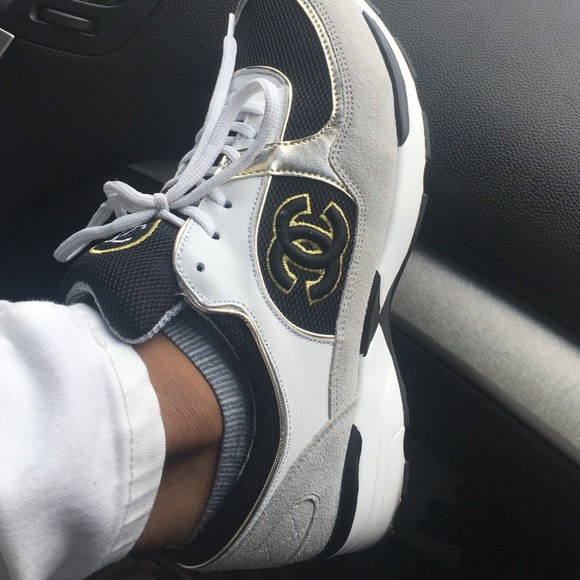 CHANEL Shoes   Chanel Retro Trainers