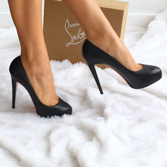 1bf1121b667 Christian Louboutin Shoes - Authentic Louboutin Black Miss Clichy Pumps
