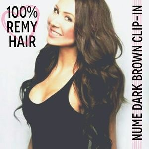 "22"" NUME CLIP-IN Remy Hair"